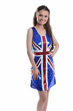 WOMENS LADIES SEXY GINGER SPICE GIRL COSTUME HEN DOO FANCY DRESS PARTY  OUTFIT