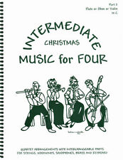 Music for Four Christmas Violin, Oboe, Flute Pt 2