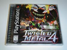 TWISTED METAL 4 SONY PLAYSTATION USA NTSC BLACK LABEL *BRAND NEW*