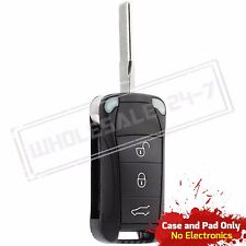 Replacement For 2006 2007 2008 Porsche Cayenne Key Fob Remote Shell Case