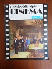 Ancienne encyclopédie alpha du cinéma, alpha 81, vieux film, 1977