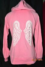 Victorias Secret Supermodel Essentials Angel Wing Sequins Bling Hoodie NWT L