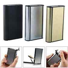 Auto-Ejection Slim Tobacco Case Lighter Box Container For 10 Cigarette Storage