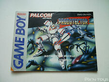 ►►►► NINTENDO GAME BOY / Notice, Instructions Probotector [ DMG-CN-FAH ]