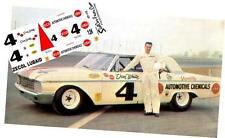 CD_1775 #4 Don White Zecol Lubaid  1962 Ford  1:24 Scale Decals  ~OVERSTOCK~
