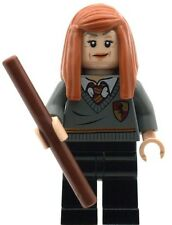 Lego Harry Potter Ginny Weasley with Wand Minifig Made From Lego NEW