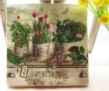 20 PCS Vintage Color Paper Napkin Party 100% Virgin Wood Paper Napkin Pattern 5
