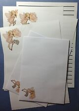 Little Summer Rose Fairy Letter writing stationery paper set & envelopes