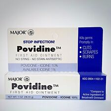 POVIDONE First Aid Ointment (Compare to Betadine) - 1oz