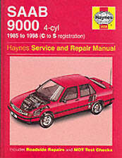 Saab 9000 (4-cylinder) Service and Repair Manual by A. K. Legg, Spencer...