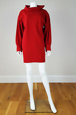 *YVES SAINT LAURENT* VINTAGE RIVE GAUCHE WOOL MINI DRESS (10)