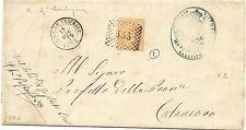 P8522   Catanzaro, Chiaravalle Centrale, numerale a punti + DC piccolo, 1875