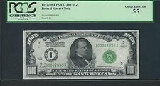 1928 $1000 Dollar Bill RARE Minneapolis Redeemable In Gold Note PCGS AU 55