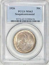 1926 Sesquicentennial Commemorative Silver Half Dollar PCGS MS 63 Great Add