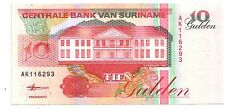 Suriname   10  gulden  1998    FDS  UNC  pick 137 b      lotto 3231