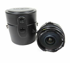 MINOTA MD FISH-EYE WIDE 16MM F / 2.28 SLR FIXED PRIME LENS WITH HARD CASE