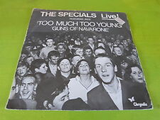 """THE SPECIALS - Too much too young - VINYL 45T - 7"""" !!!"""
