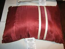 "Royal Heritage Home , Pillow , Red and White Stripe  , 18"" X 12"""