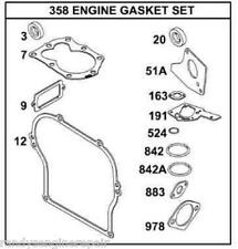 Gasket SET 495603 397145 OEM 5hp Briggs and Stratton