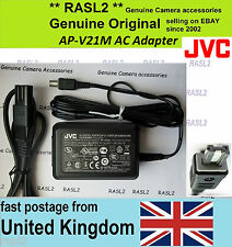 Original JVC AC POWER Adapter AP-V21M GY-HM150e GZ MG610SE MG20 MG27us AP-V14e