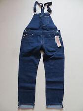 Levi's® Latzhose Latz Jeans Hose Gr. M, W 34, NEU ! Dark Indigo Denim, Overall !