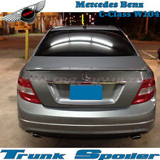 Unpainted A Type Rear Trunk Spoiler For MERCEDES BENZ W204 C-Class C63 C300 C250