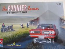 '63 tempest THE FUNNY FARMER ALTERED WHEELBASE AMT MODEL KING 1:25 1963 wrapped