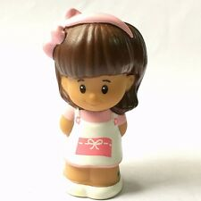 Fisher-Price Little People shopkeeper Mia for Corner Market Figure Toy QA298