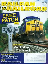 2015 Railfan & Railroad Magazine: Sand Patch/Matched Sets In 90s New Jersey