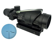 Real Fiber Optic Green illuminated 4x32 Rifle Scope M.acog.raf + Killflash