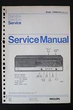PHILIPS Radio 19RB344 Originale Manuale servizio/Manuale/Schema elettrico! o55