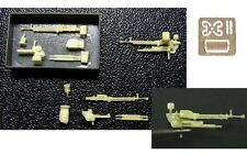 Armory ARAC7239 1/72 PE+Resin Kit - DShK AA Heavy Machinegun for T-54/55/62