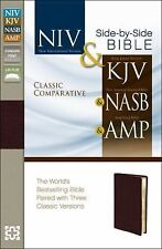 CLASSIC COMPARATIVE SIDE-BY-SIDE BIBLE [9780310436775] (PAPERBACK) NEW