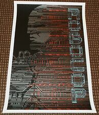 Robocop silkscreen movie poster Todd Slater MONDO 2012