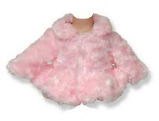 """Soft Pink Fur Jacket Coat  for 18"""" American Girl Doll Clothes Best Selection!"""