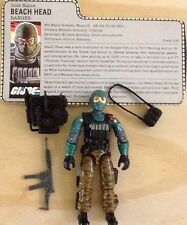 GI JOE ARAH BEACH HEAD RANGER COMPLETE 3 3/4 FIGURE VINTAGE 1986 80s BEACHHEAD