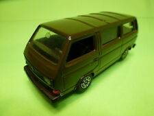 SCHABAK 1040 VW VOLKSWAGEN T3 CARAVELLE- ARMY GREEN/BROWN 1:43 - GOOD CONDITION