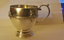 Walker & Hall Sterling Silver Christening Mug - Hallmarked 1930