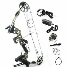The Dream Camo Compound Bow Right Hand Outdoor Hunting Bow Archery Set