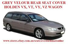 GREY VELOUR REAR SEAT COVER  HOLDEN VX,VT,VY,VZ WAGON