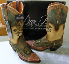 DAN POST CARLITA Leather Western Boot Sz 10 NIB
