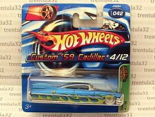 Short T-Hunt CUSTOM '59 CADILLAC 1959 Caddy REAL RIDERS Treasure Hunt Hot Wheels