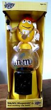 M & M's real working coin bank sweet dispenser boxed