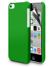 Ultra Slim Hybrid Matt Hard Back Case For Apple Iphone 5C & Screen Protector