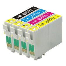 4 Cartouches d'encre pour Epson Stylus D68 DX3800 DX4200 DX4800