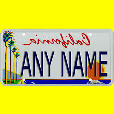 Custom Vanity License Plate - Personalized Novelty State Style Automobile Size