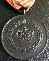 ✚6327✚ German WW1 Wurttemberg Military Long Service Medal III. Class 9 years