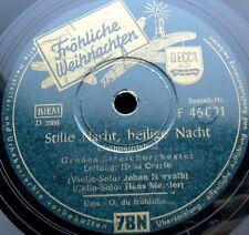 X041/ HANS CARSTE-JOHANN HORVATH-HANS METZLER-Violine-Weihnachten-Schellack