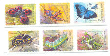 Australia-Bugs and Butterflies self-adhesive set mnh-Insects