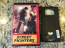 STREET FIGHTERS PART II RARE OOP VHS! SUNRISE VIDEO 1985 KUNG FU MARTIAL ARTS!